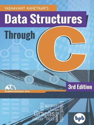 cover image of Data Structures Through C