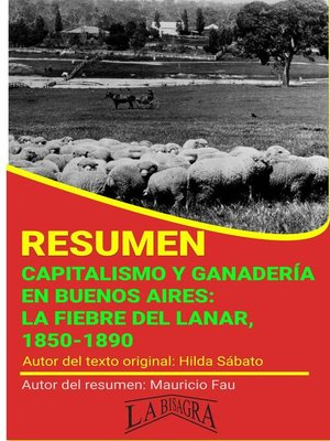 cover image of Resumen de Capitalismo y Ganadería en Buenos Aires