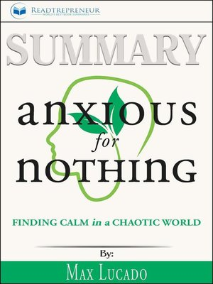 cover image of Summary of Anxious for Nothing