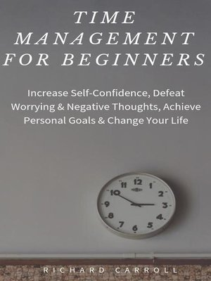 cover image of Time Management For Beginners