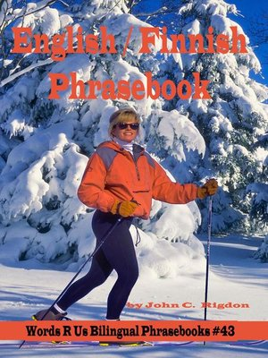 cover image of English / Finnish Phrasebook