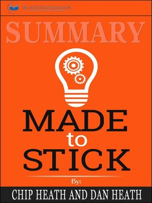 cover image of Summary of Made to Stick