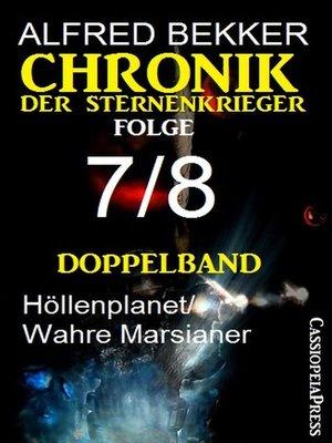 cover image of Doppelband Chronik der Sternenkrieger Folge 7/8