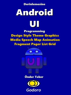 cover image of Derinlemesine Android UI Programming
