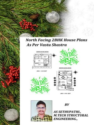 cover image of North Facing 2BHK House Plans As Per Vastu Shastra