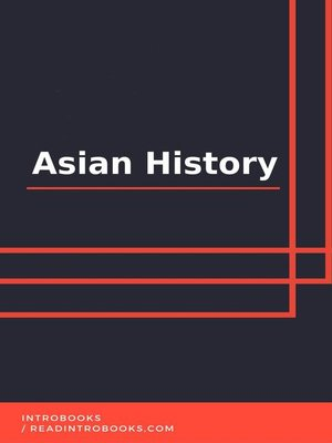 cover image of Asian History