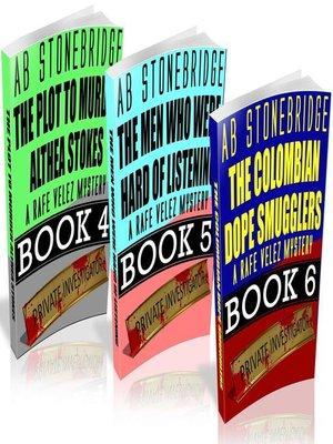 cover image of Rafe Velez Mysteries Bundle #2 (4-6)