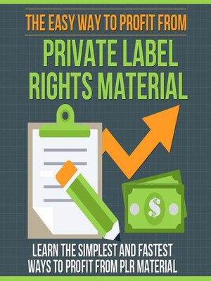 cover image of The Easy Way to Profit From Private Label Rights Material