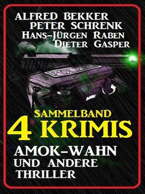 cover image of Sammelband 4 Krimis