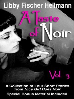 cover image of A Taste of Noir — Volume 3
