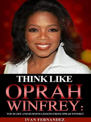 cover image of Think Like Oprah Winfrey