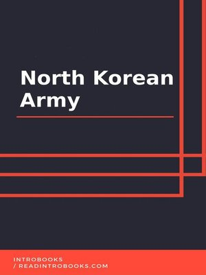 cover image of North Korean Army