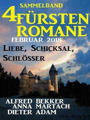 cover image of Sammelband 4 Fürstenromane