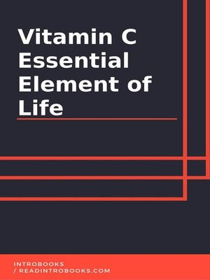 cover image of Vitamin C