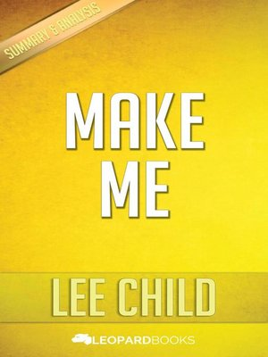 lee child make me epub