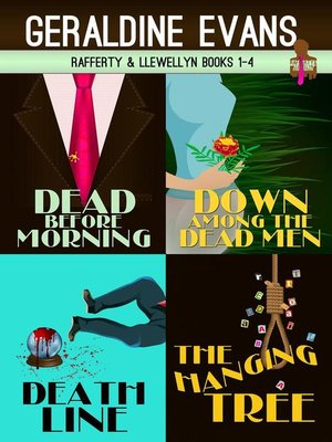 cover image of Rafferty & Llewellyn British Mystery Series Boxed Set Books 1 to 4