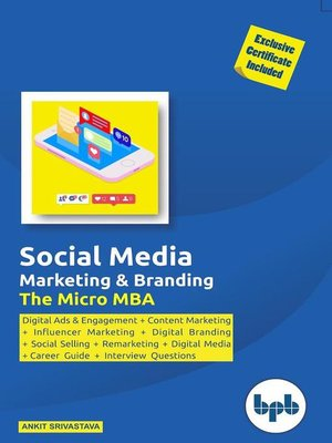 cover image of Social Media & Branding- the Micro MBA