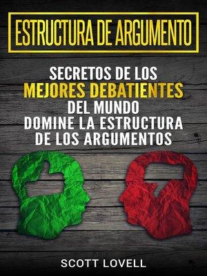 cover image of Estructura de Argumento