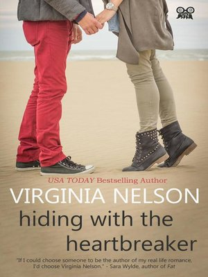 cover image of Hiding with the Heartbreaker