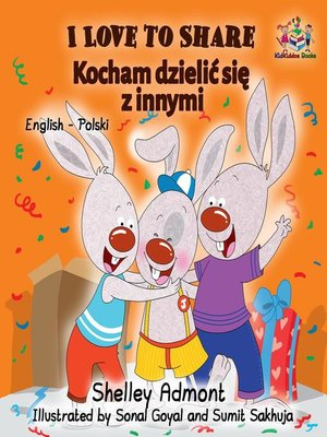 cover image of I Love to Share (English Polish Bilingual Book)