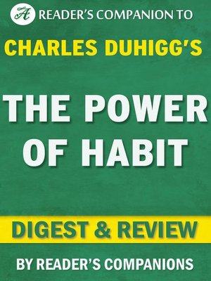 cover image of The Power of Habit by Charles Duhigg | Digest & Review