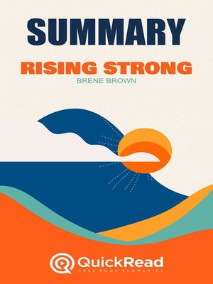 """cover image of Summary of """"Rising Strong"""" by Brené Brown"""
