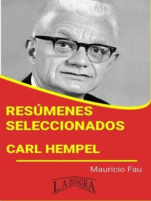 cover image of Carl Hempel