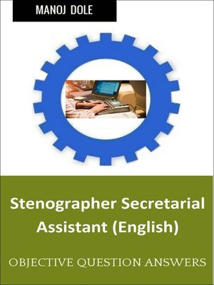 cover image of Stenographer secretarial Assistant