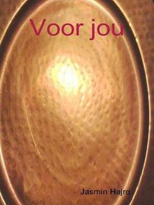 cover image of Voor jou