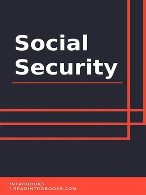 cover image of Social Security