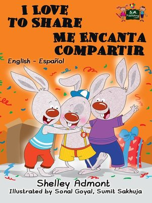 cover image of I Love to Share Me Encanta Compartir