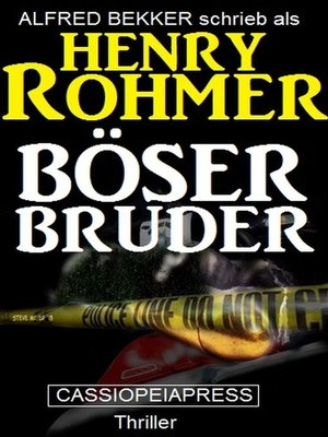 cover image of Böser Bruder