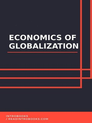 cover image of Economics of Globalization