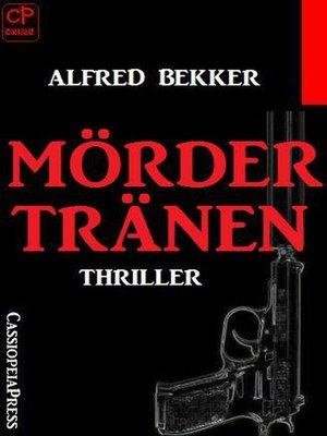 cover image of Mördertränen
