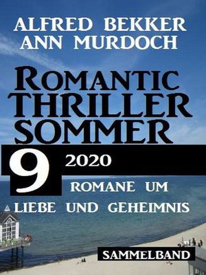 cover image of Romantic Thriller Sommer 2020