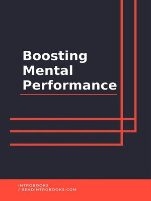 cover image of Boosting Mental Performance