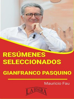 cover image of Gianfranco Pasquino