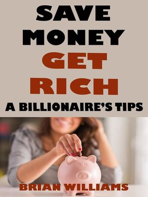 cover image of Save Money Get Rich