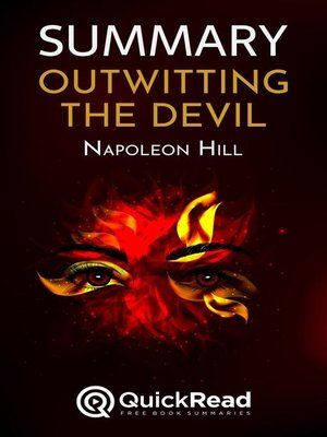 """cover image of Summary of """"Outwitting the Devil"""" by Napoleon Hill"""