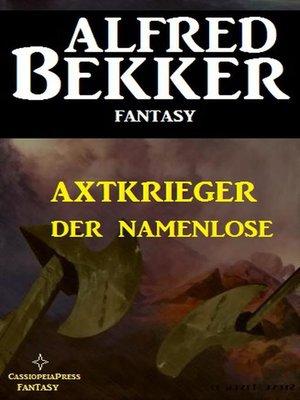 cover image of Alfred Bekker Fantasy
