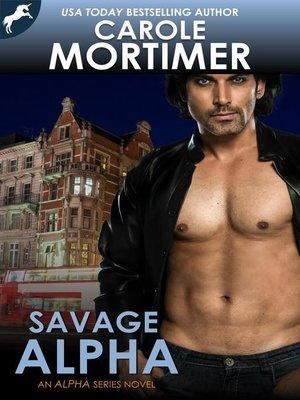 cover image of Savage Alpha (ALPHA 8)