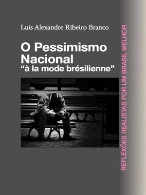cover image of O Pessimismo Nacional