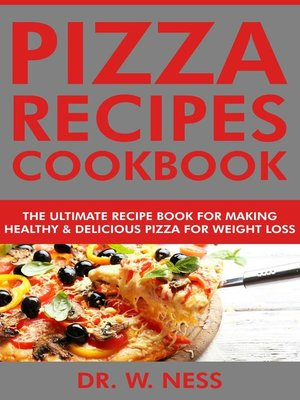 cover image of Pizza Recipes Cookbook