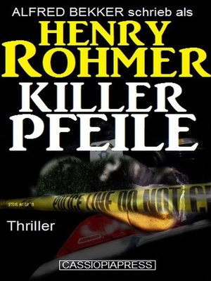 cover image of Killerpfeile
