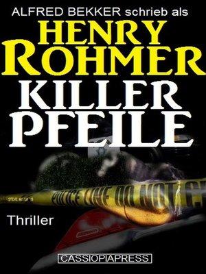 cover image of Killerpfeile