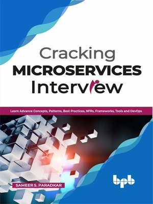 cover image of Cracking Microservices Interview