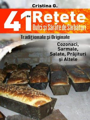 cover image of 41 de Retete Dulci si Sarate de Sarbatori