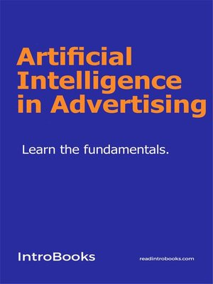 cover image of Artificial Intelligence in Advertising