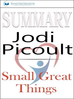 cover image of Summary of Small Great Things