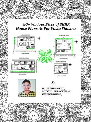 cover image of 80+ Various Sizes of 3 BHK House Plans As Per Vastu Shastra